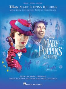 Shaiman-Wittman Mary Poppins Returns (Music from the Motion Picture Soundtrack) (Piano-Vocal-Guitar)