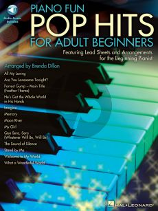Piano Fun Pop Hits for Adult Beginners (Book with Audio online) (arr. Brenda Dillon)