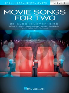 Movie Songs for 2 Violins (arr. Mark Phillips)