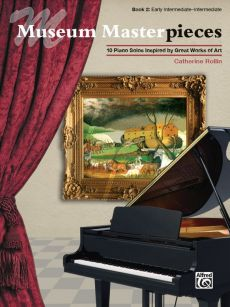 Rollin Museum Masterpieces Book 2 Piano Solo (10 Piano Solos Inspired by Great Works of Art)