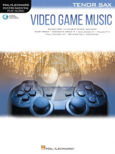 Video Game Music for Tenor Saxophone (Hal Leonard Instrumental Play-Along) (Book with Audio online)