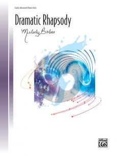 Bober Dramatic Rhapsody Piano solo
