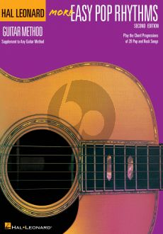 More Easy Pop Rhythms for Guitar Book (Hal Leonard Guitar Method)