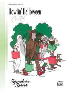 Rollin Howlin' Halloween Piano Solo (early intermediate level)