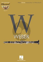 Weber Clarinet Concerto No. 1 f-minor Opus 73 (Classical Play-Along Volume 14) (Bk-Cd)