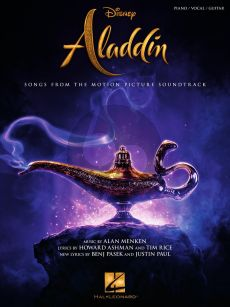 Menken Aladdin Piano-Vocal-Guitar (Songs from the Motion Picture Soundtrack)