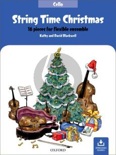 Blackwell String Time Christmas for Flexible Ensembe Cello Part (16 Pieces with Downloadable Resources)