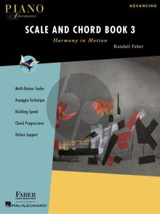 Faber Piano Adventures Scale and Chord Book 3 (Harmony in Motion)