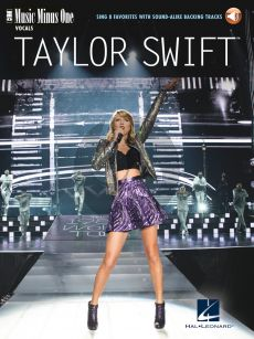 Taylor Swift – Sing 8 Favorites (Book with Audio online) (MMO)