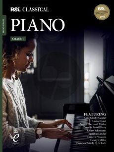 RSL Classical Piano Grade 1 (2021) (Book with Audio online)
