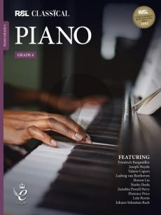 RSL Classical Piano Grade 4 (2021) (Book with Audio online)