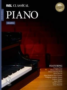 RSL Classical Piano Grade 6 (2021) (Book with Audio online)