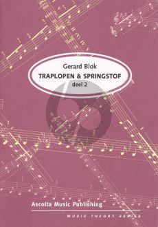 Blok Traplopen & Springstof Vol.2 (Solfege en Theorie)