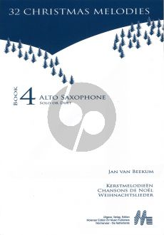 Jan van Beekum Kerstmelodien (32 Christmas Melodies) (with 2nd.part opt.)