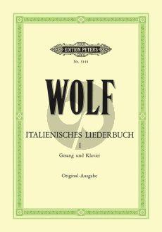 Wolf Italienisches Liederbuch vol.1 (nach Heyse) (Original-Ausgabe) (Medium-High)