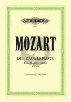 Mozart Die Zauberflöte KV 620 Klavierauszug (Kurt Soldan)