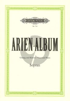 Arien Album (Sopran) (Dorffel/Soldan) (Beruhmte Arien aus Oratorien und Opern)