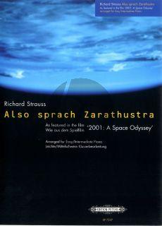 Strauss R. Also Sprach Zarathustra (Operning Theme) Piano solo (from Film Space Odyssey) (arr. Ian Flint)