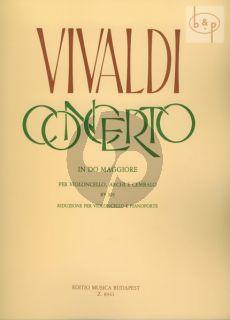 Concerto C-major RV 399 Violoncello.-Strings-Bc.