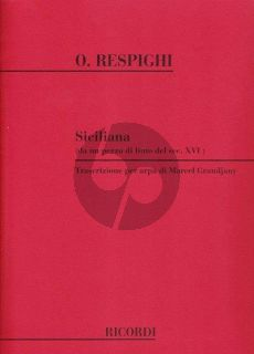 Respighi Siciliana Harp (Grandjany) (advanced level)