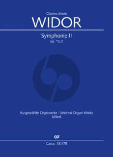 Widor Symphonie No.2 Op.13 Orgue (Georg Koch)