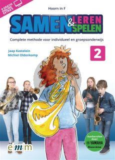 Kastelein-Oldenkamp Samen Leren & Samenspelen Vol.2 Hoorn in F Boek-Audio-Online