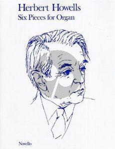 Howells 6 Pieces for Organ