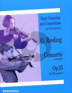 Rieding Concerto B-minor Op.35 Cello-Piano (1st- 7th Position)