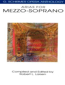 Album Opera Anthology Arias for Mezzo Soprano (edited by Robert L.Larsen)