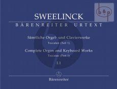 Samtliche Orgel- & Clavierwerke Vol.1 Teil 1 (Toccaten Vol.1)