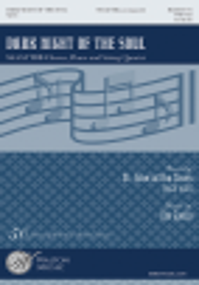 Gjeilo Dark Night of the Soul SSAATTBB-Strings Choral Score