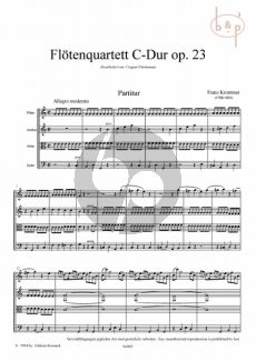 Quartett C-dur Op.23