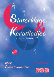 Glaser Sinterklaas en Kerstliedjes in Pop en Klasseik C-Instrumenten (Dwarsfluit/Blokfluit/Viool/Hobo) (Bk-Cd)