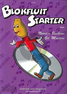 Buskens-Masters Blokfluit Starter Vol.1 (Methode voor Beginners) (Bk-Cd)