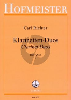 Richter Klarinetten Duos Vol.2