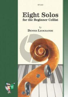 Leogrande 8 Solos for the Beginner Cellist