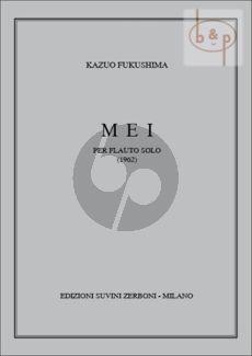Fukushima Mei (1962) Flute solo