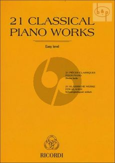 21 Classical Piano Works