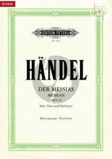 Messias / Messiah (HWV 56) (KA.) (Urtext von Schering/Soldan)