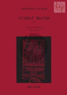 Vivaldi Stabat Mater (RV 621) (Alto) (Vocalscore) (Malipiero)