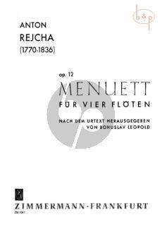 Menuet aus Quartett Op.12
