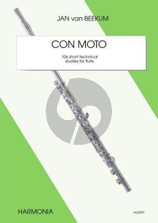 Beekum Con Moto (106 Short Technical Studies) Flute