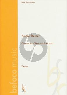 Reiner Quartet (1828) Oboe-Vi.-Va.-Vc. (Score/Parts)