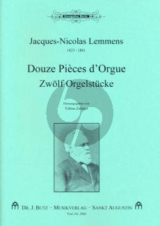 Lemmens 12 Pieces d'Orgue (ed. Tobias Zuleger)