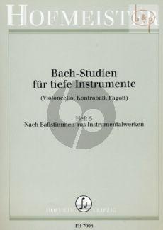 Studien Vol.5 Instrumental Werke Ouverturen und Brandenburgische Konzerte