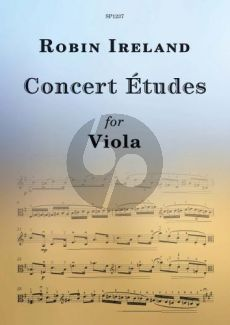 Ireland Concert Etudes for Viola