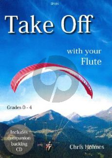 Holmes Take Off with your Flute (Bk-Cd)