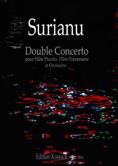 Surianu Double Concerto (2015) for Piccolo-Flute and Orch. (piano red.)