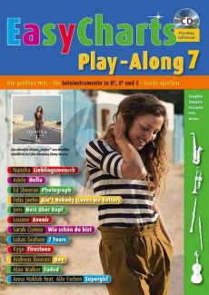 Easy Charts Play-Along Vol.7 (all C.-Bb.-Eb. Instr) (Bk-Cd)