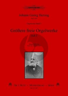 Herzog Orgelwerke Band 7 Grossere freie Orgelwerke Band 2 (ed. Konrad Klek)